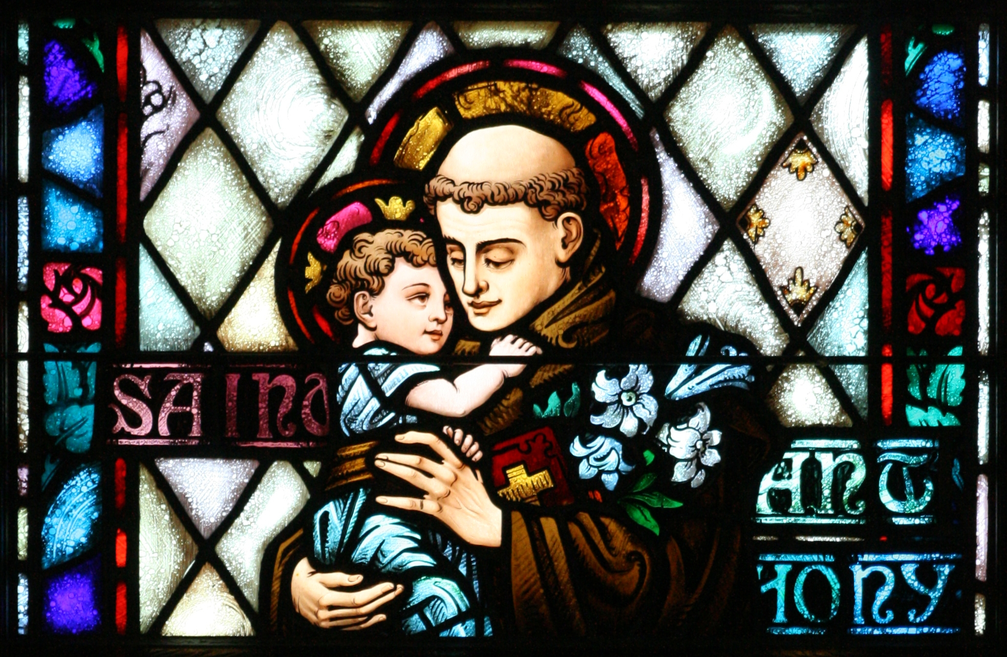 St. Anthony Stained Glass 1